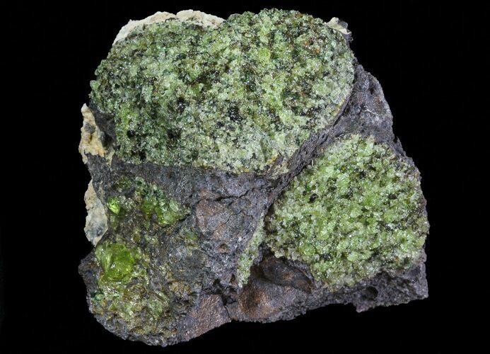 Polished Olivine Basalt : Quot peridot in basalt arizona for sale