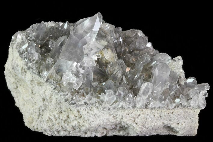 "2.5"" Quartz Cluster With Magnesium Inclusions - Arkansas"