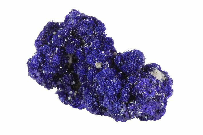"1.2"" Sparkling Azurite Crystal Cluster - Morocco"