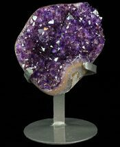 Quartz var. Amethyst - Fossils For Sale - #76650
