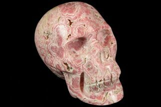 "Buy 4.2"" Polished Rhodochrosite Skull - Argentina - #78067"