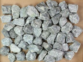 "Wholesale Lot: 2-3"" Raw, Unpolished Labradorite - - 5kg (11 lbs) For Sale, #78017"