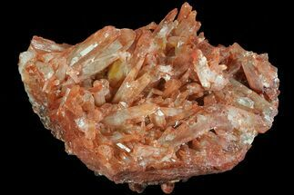 Quartz with Iron Oxide - Fossils For Sale - #80541