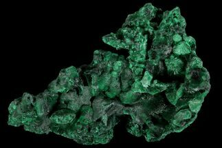 "2.6"" Silky Fibrous Malachite Cluster - Congo For Sale, #81773"