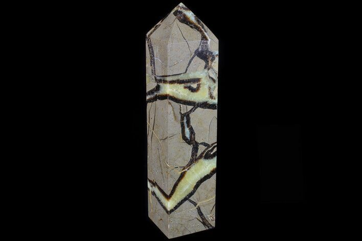 "8.8"" Polished Septarian Obelisk - Madagascar"