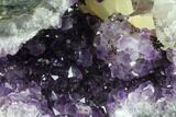 "8.9"" Beautiful Purple Amethyst Geode - Uruguay - #87445-3"