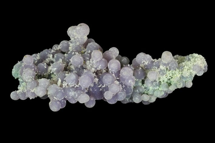 "2.5"" Purple/Green Botryoidal Grape Agate - Indonesia"