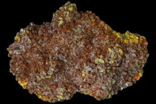 Realgar, Quartz & Pyrite - Fossils For Sale - #89352