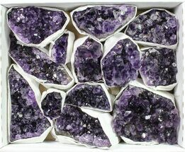 Quartz var. Amethyst - Fossils For Sale - #90108