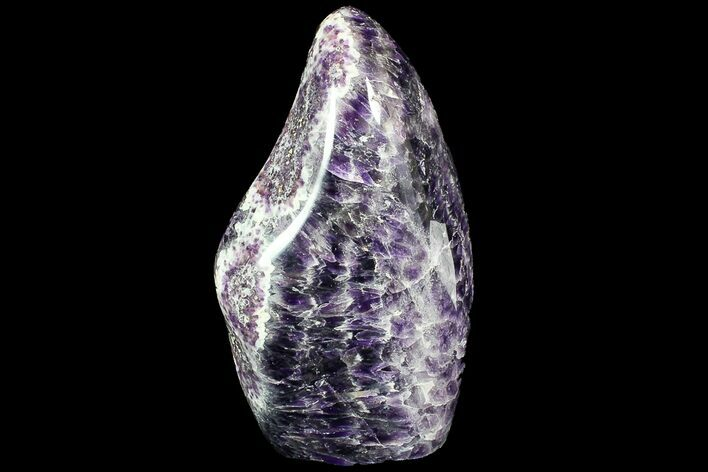"7.2"" Tall, Free-Standing, Polished, Chevron Amethyst"