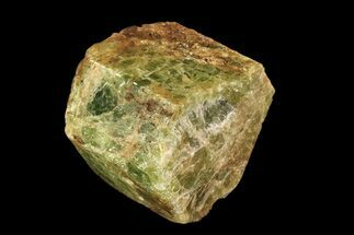 "1.4"" Yellow-Green Fluorapatite Crystal - Ontario, Canada For Sale, #93746"