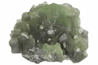 "Buy 8"" Green Fluorite Crystal Cluster - China - #94645"