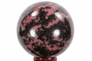 "Buy Beautiful, 2.35"" Rhodonite Sphere - Madagascar - #95041"