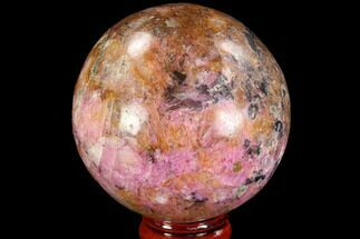 "Buy 2.3"" Polished Cobaltoan Calcite Sphere - Congo - #95014"
