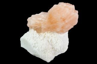"Buy 2.4"" Pink-Orange Stilbite Crystal Cluster - India - #94294"