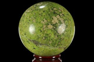 "Buy 2.4"" Polished Green Opal Sphere - Madagascar - #95866"