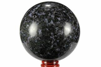 "3.1"" Polished, Indigo Gabbro Sphere - Madagascar For Sale, #96020"