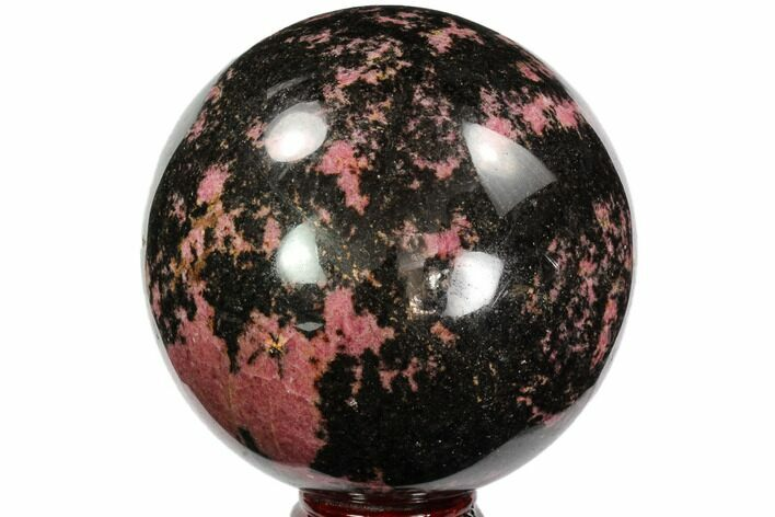 "5.2"" Beautiful Rhodonite Sphere - Madagascar"