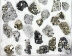 Wholesale Flat - Pyrite, Galena, Quartz, Etc From Peru - 41 Pieces - #97061-1
