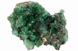 "3.5"" Fluorite Crystal Cluster -  Rogerley Mine For Sale, #97889"
