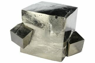 Buy Natural Pyrite Cube Cluster From Spain - #97900