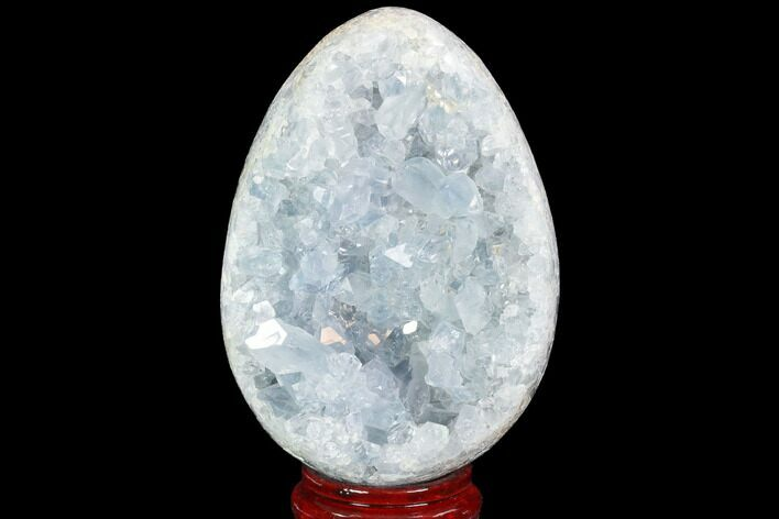 "5.3"" Crystal Filled Celestine (Celestite) ""Egg"" Geode - Madagascar"
