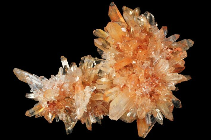 "1.95"" Orange Creedite Crystal Cluster - Durango, Mexico"