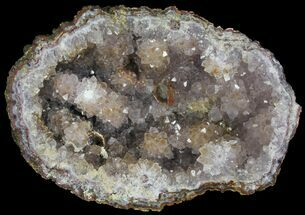 "Buy 5.4"" Amethyst Crystal Geode Section - Morocco - #103243"