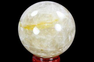 "Buy 4.2"" Polished Quartz Sphere - Madagascar - #104281"