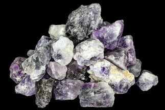 Wholesale Lot: Rough Purple Fluorite Chunks - 11.5lbs - Morocco For Sale, #104024
