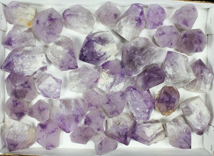 "Wholesale Lot: 1.5-2.6"" Amethyst Points - 37 Pieces"