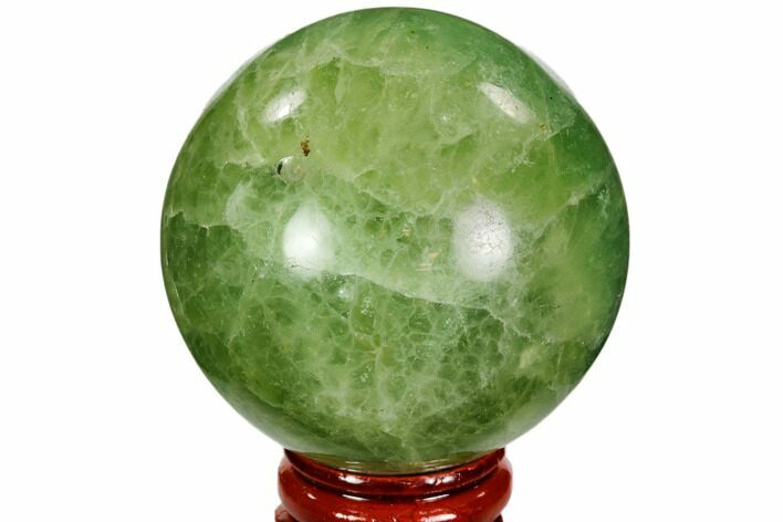 "2.2"" Polished Green Fluorite Sphere - Madagascar"