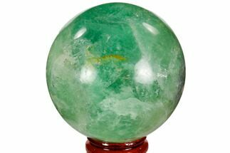 "Buy 2.5"" Polished Green Fluorite Sphere - Madagascar - #106282"