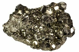 "2.9"" Gleaming Pyrite Crystal Cluster - Peru For Sale, #106850"