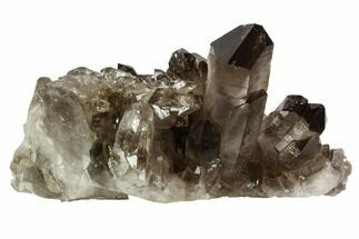 Quartz var. Smoky - Fossils For Sale - #106965