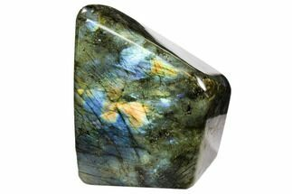 "3.8"" Flashy Polished Labradorite Free Form - Madagascar For Sale, #106886"