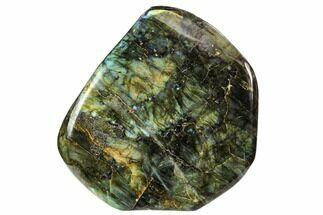 "6.5"" Flashy, Free-Standing, Polished Labradorite - Madagascar For Sale, #106916"