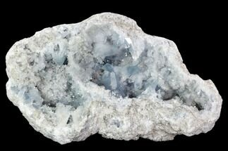 "Large, 12"" Celestine (Celestite) Geode (16 Lbs) - Top Quality! For Sale, #106673"