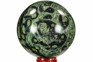 "3.1"" Polished Kambaba Jasper Sphere - Madagascar For Sale, #107282"
