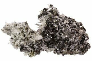 "4.8"" Pyrite, Sphalerite and Quartz Association - Peru For Sale, #107441"