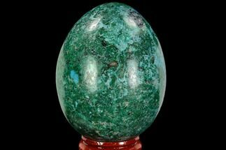 "2.5"" Polished Chrysocolla & Malachite Egg - Peru For Sale, #108803"