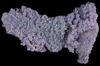 "Buy 4.7"" Purple, Druzy, Botryoidal Grape Agate - Indonesia - #109420"