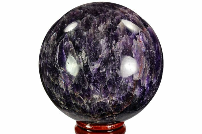 "2.7"" Polished Amethyst Sphere - Morocco"