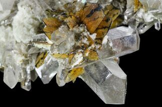 "3.4"" Brookite and Quartz Crystal Association- Pakistan For Sale, #111344"