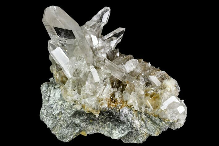 "2.3"" Quartz Crystals and Adularia - Hardangervidda, Norway"