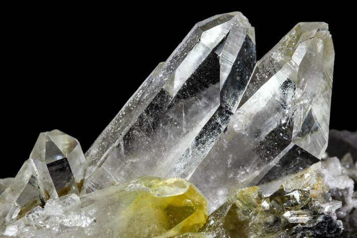 "3.6"" Quartz and Adularia Crystal Association - Norway"