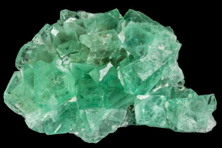 "2.9"" Green Fluorite Crystal Cluster - South Africa"