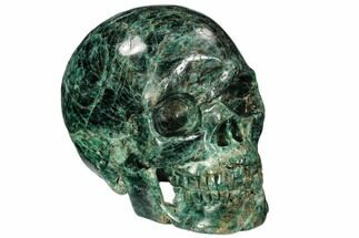 "Buy 4.9"" Polished, Bluish-Green Apatite Skull - Madagascar - #111709"