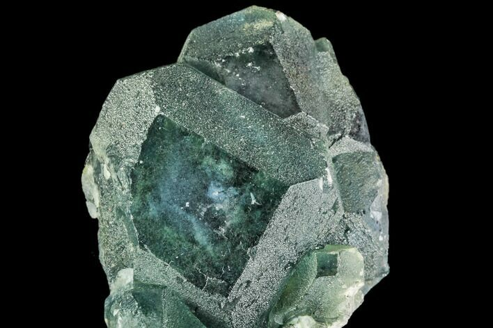 "2.3"" Green Fluorite Crystal Cluster - China"
