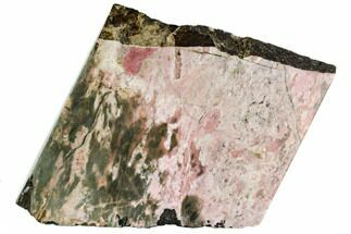 "10.3"" Free-Standing, Polished Rhodonite Section - Northern B.C. For Sale, #112724"